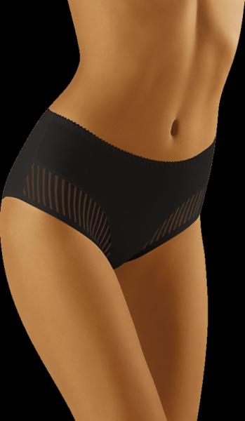 Wol-Bar Eco-Qi Černé kalhotky M černá