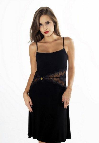 Gaia Persefona NKV121 Černá Noční košilka XL černá