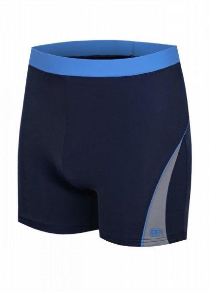 Shepa 059 Pánské plavky (B2D4/12) XL tmavě modro-modrá
