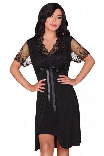 Krásný komplet LivCo Corsetti Zorda S M černá 0bf0f597ee