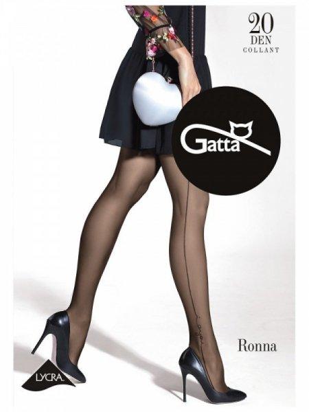 Gatta Ronna 28 Punčochové kalhoty 3-M Nero