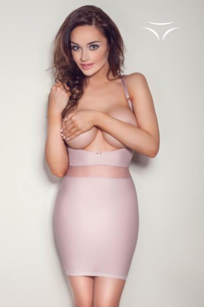 Mitex Pure Grace Růžová Stahovací košilka XL starorůžová