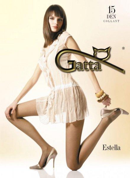 Punčocháče Gatta Estella 15 DEN 4-L Sierra