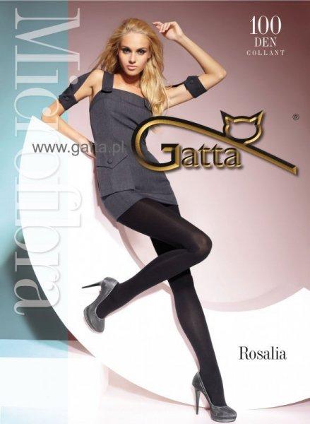 Punčocháče Gatta Rosalia 100 DEN 2-S Topino (šedá)