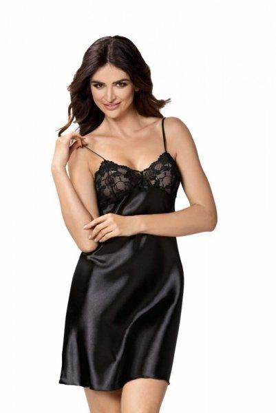 Donna Aisha noční košilka černá XL černá