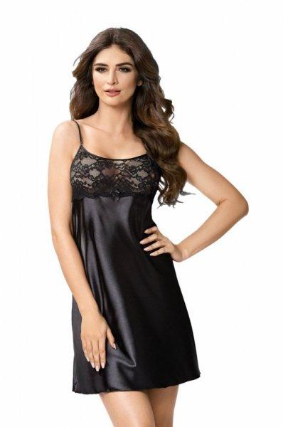 Donna Iris noční košilka černá S černá