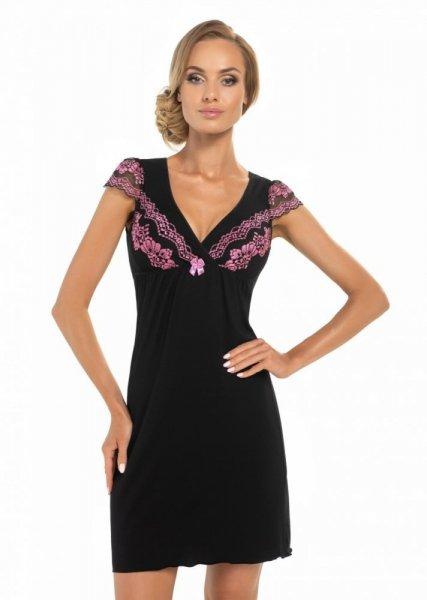 Donna Aura černá Noční košile S černá