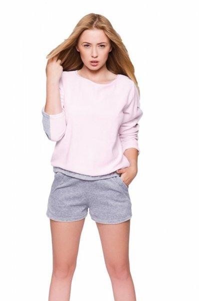 Sensis Linea Dámské pyžamo L/XL růžovo-šedá
