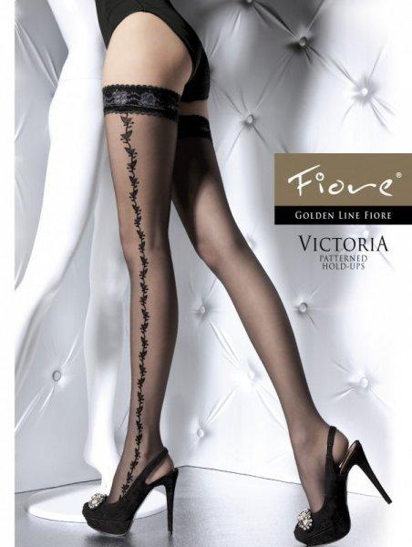 Fiore Victoria Punčochy 20 DEN 4-L bílá