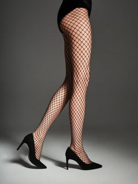 Fiore Myrna Punčochové kalhoty 2-S černá