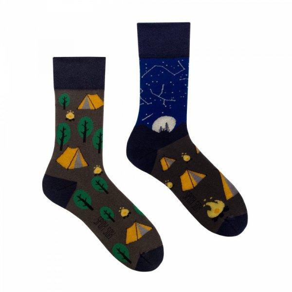 Spox Sox Camping Ponožky 44-46 vícebarevná