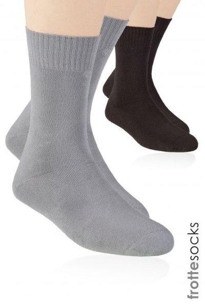 Steven art.015 Pánské ponožky 38-40 hnědá