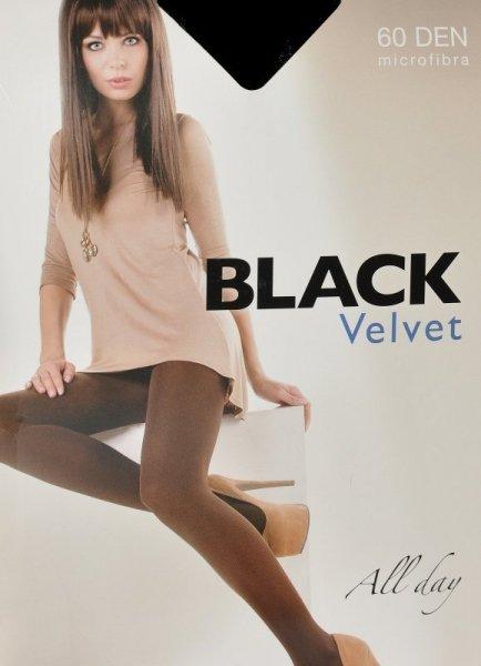 Egeo Black Velvet 60 den Punčochové kalhoty 2-S antracite/odstín šedé