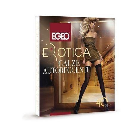 Egeo Erotica Microfibra 40 den Punčochy 1-2 nero/černá