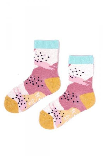 YO! Jazzy Girls SK-06 31-42 A'6 mix dětské ponožky 35-38 mix barva