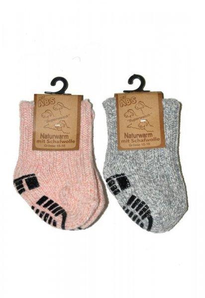 RiSocks art.3119 ABS dětské / mládežnické ponožky 27-30 červená