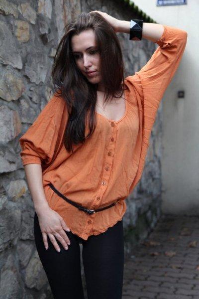 Vittoria Ventini Giulia Halenka oranžová Univerzální jako na fotografii