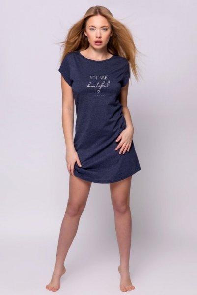 Sensis Beautiful noční košile L tmavě modrá