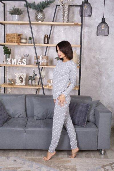 Leinle Gina 604 Dámské pyžamo XXL šedá