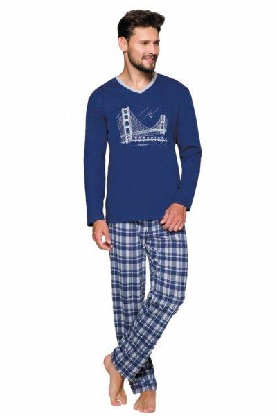 Regina 576 Pánské pyžamo 2XL XXL šedá