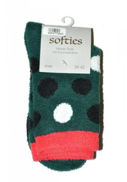 WiK 37730 Softies Ponožky 39-42 zelená