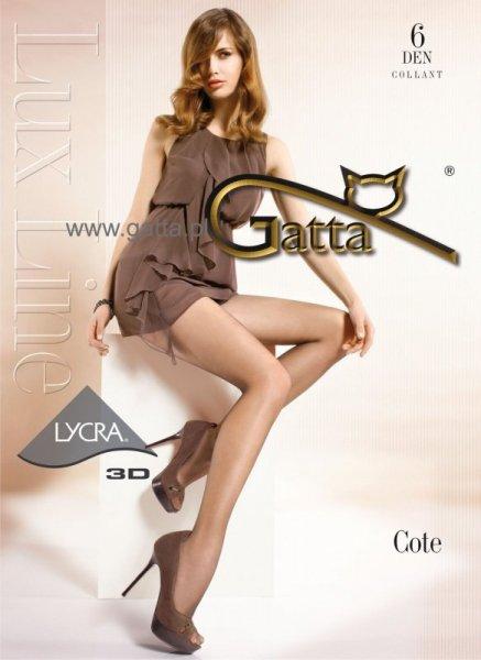 Punčocháče Gatta Cote 6 DEN 2-S Fumo (tmavě hnědá)