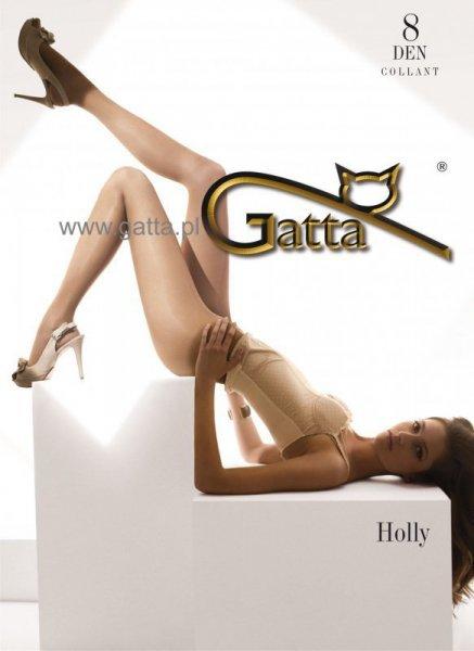Gatta Holly Punčocháče 8 DEN 3-M Nero