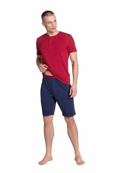 Esotiq-Henderson Dune 38879 červené Pánské pyžamo L červená