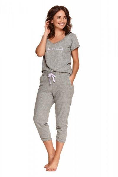 Taro Kamila 2503 šedé Dámské pyžamo S šedá