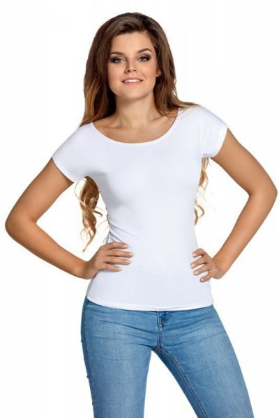 Babell Kiti bílé Dámské tričko L bílá