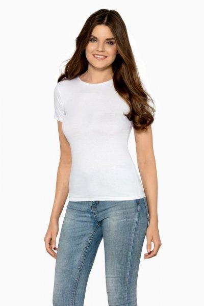 Babell Claudia bílé Dámské tričko L bílá