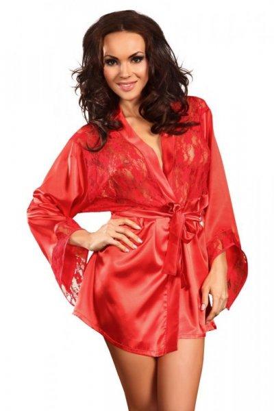 Beauty Night Prilance red Župan XL/XXL červená