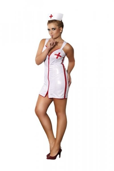 Andalea Sensual Nurse Erotický Kostým 46/48 bílá