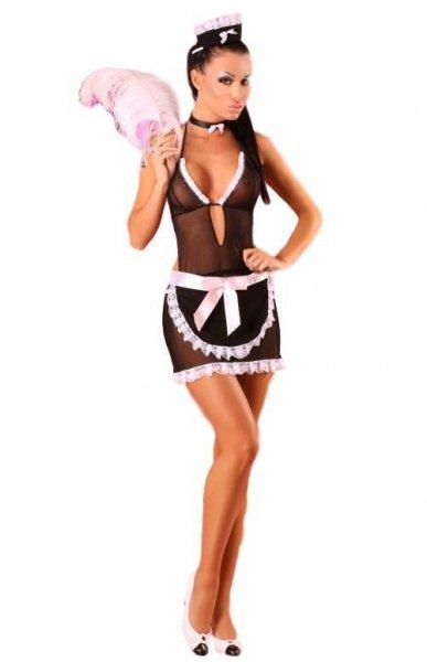 Lolitta Francesca Erotický Kostým L/XL černo-růžová