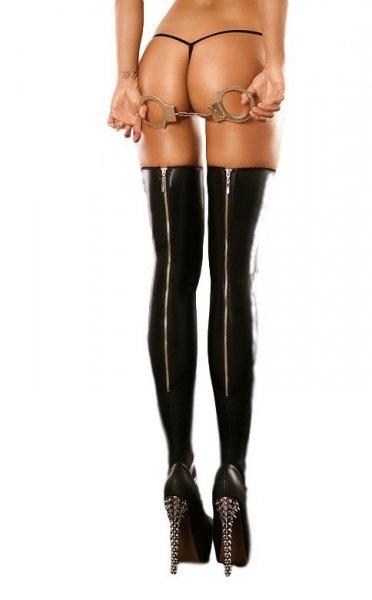 Lolitta Rock Stockings Punčochy L/XL černá