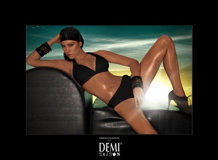 Plavky Demi Saison Lady Madonna černé 70C/36 jako na fotografii