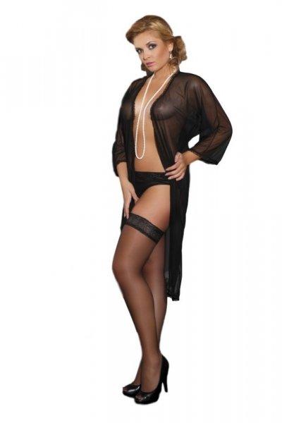 Andalea Delicate Sophie Nightgown Župan 42/44 černá