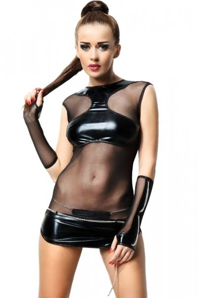 Demoniq Anette Šaty L/XL černá