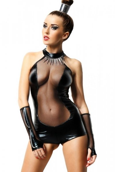 Demoniq Isabelle Body S/M černá
