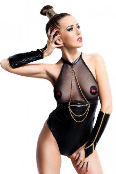 Demoniq Julie Body L/XL černá