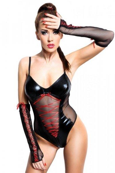 d175fbbb699 Demoniq Evelyne Erotický Komplet L XL černá