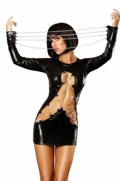 Lolitta Dash Šaty S/M černá