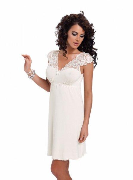 Donna Diana noční košilka cream krémová XL ecru