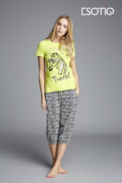 Esotiq Kita 33002 -71X 33005 -71X Dámské pyžamo S jako na fotografii