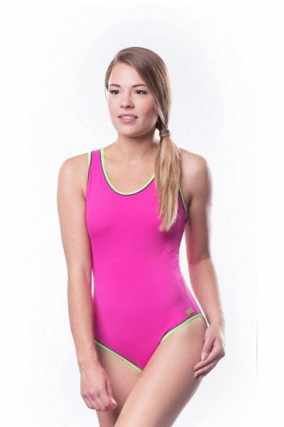 Dámské sportovní plavky Shepa 001 (B9L9P16) L růžová