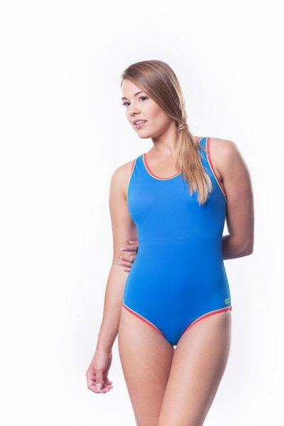 Dámské sportovní plavky Shepa 001 (B4L17P16) L modrá