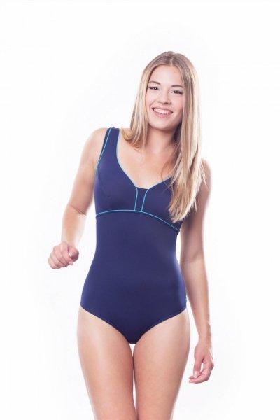 Dámské sportovní plavky Shepa 036 (B2P4) S tmavě modro-modrá