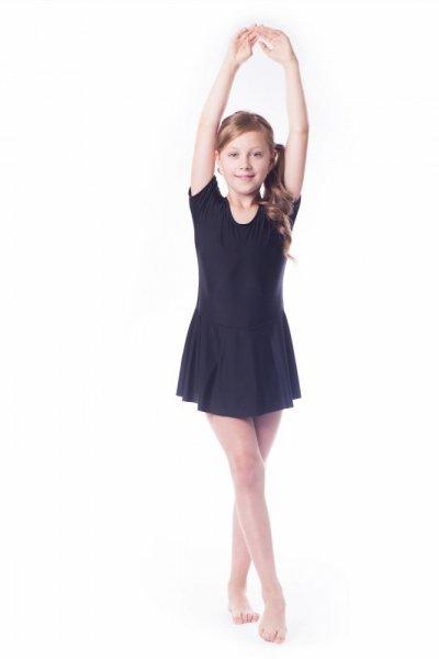 Gymnastický dres se sukní (B1) Shepa 134 černá