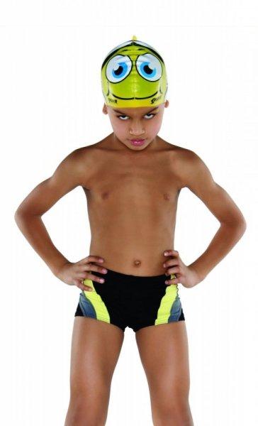 Chlapecké plavky Shepa 034 (B1D13/12) 104 černo-žlutá