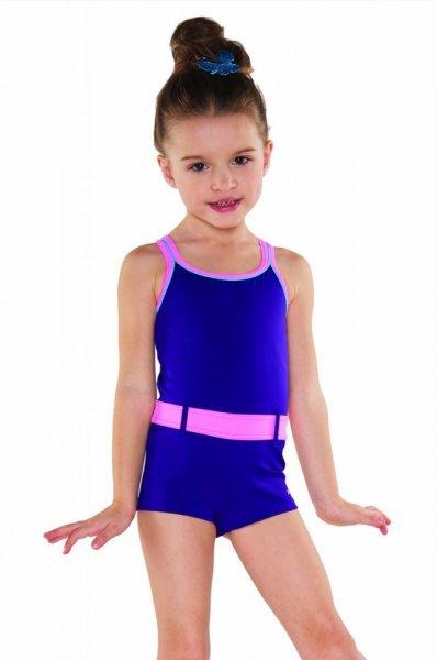 Dívčí plavky Shepa 071 (B22D9) 152 fialovo-růžová